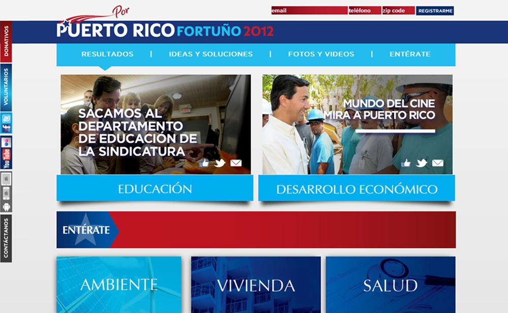 Best Gubernatorial Campaign Website