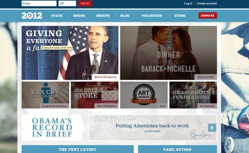 Best Presidential Political Website