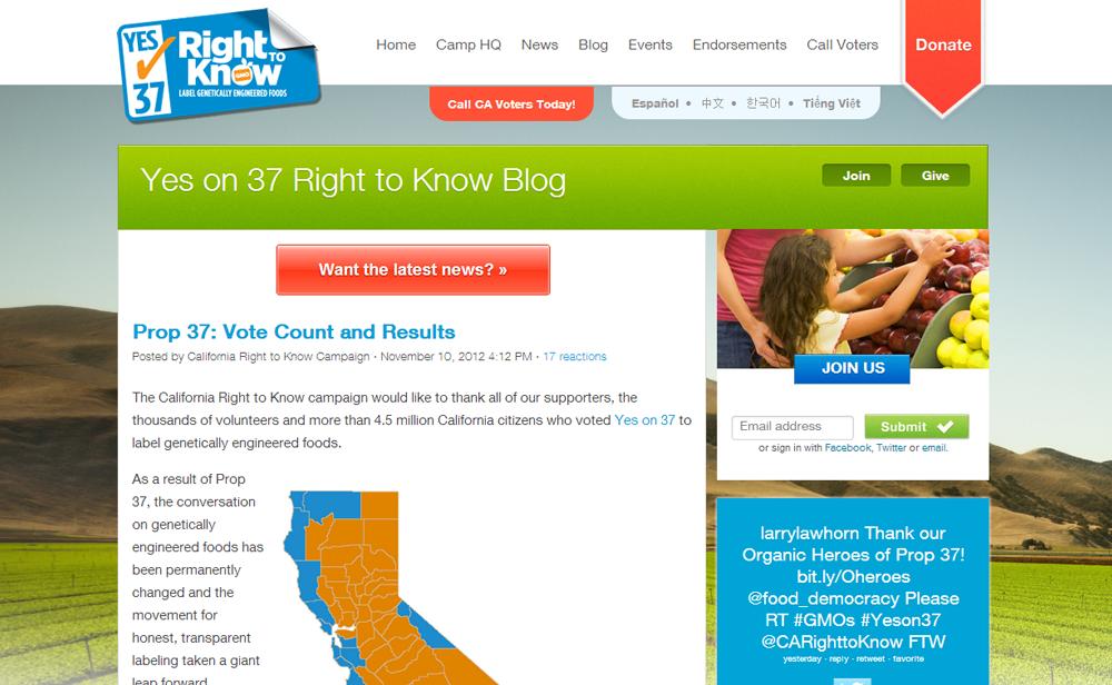 Best Ballot Measure Website