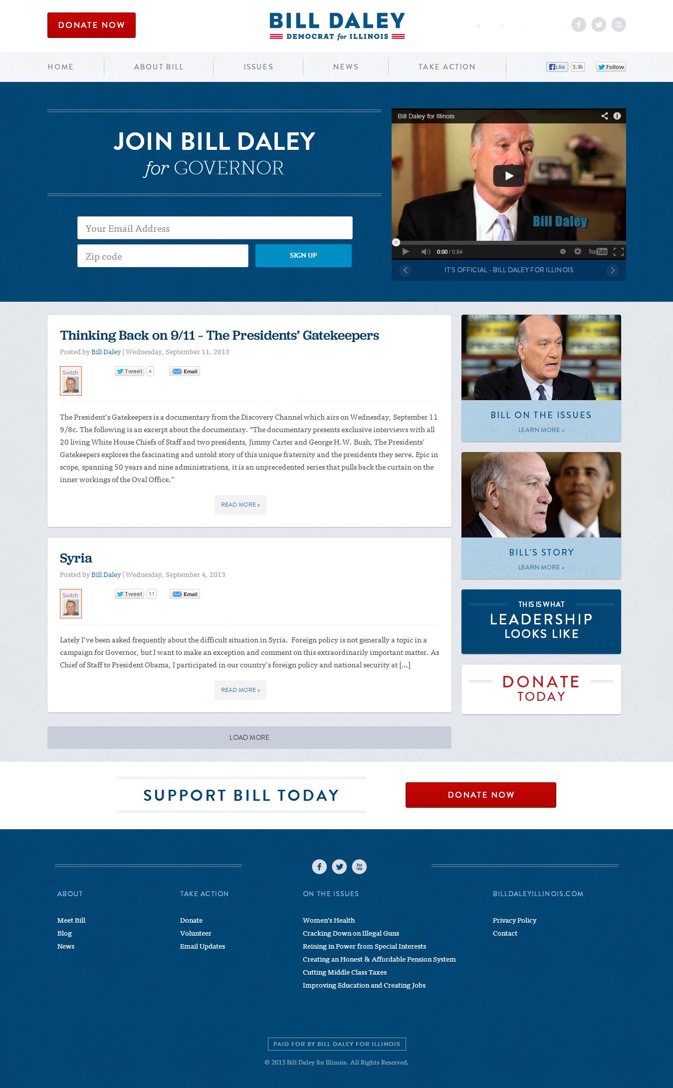 best-governor-campaign-website