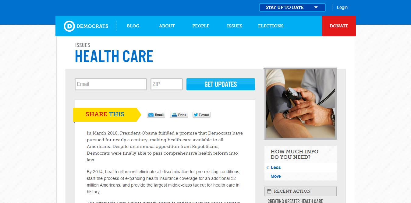 democratic-party-political-website