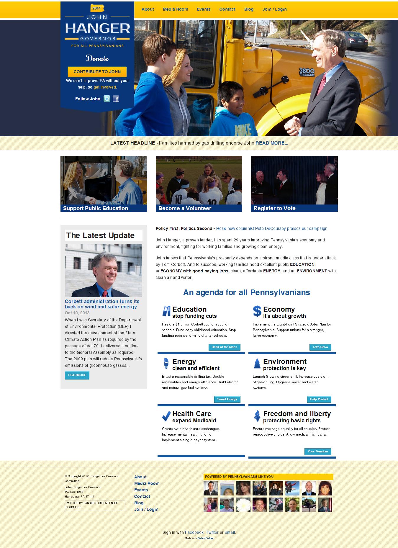 governor-political-website