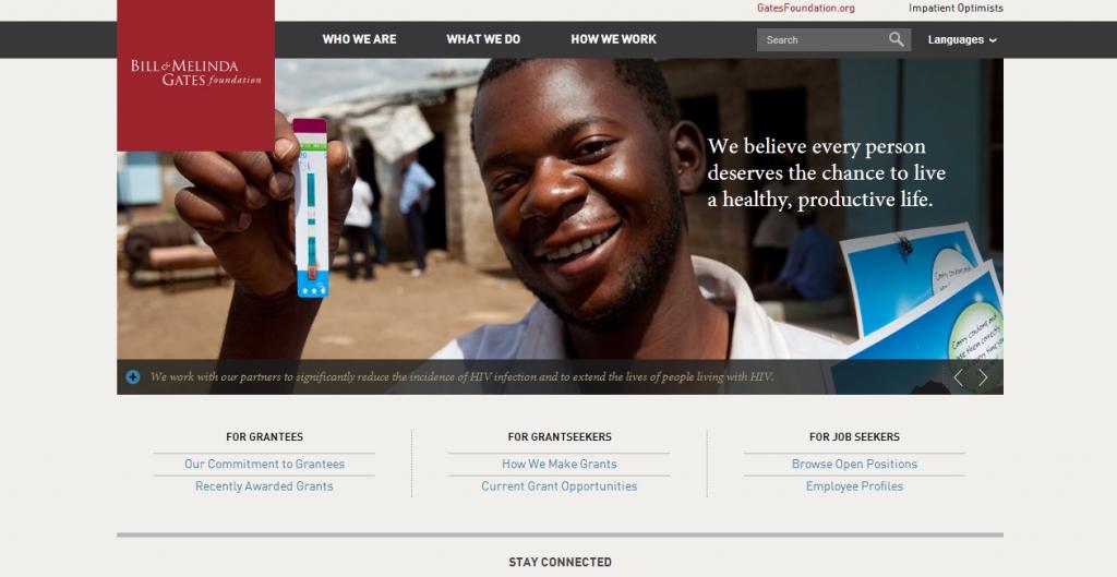 best_nonprofit_websites_gates